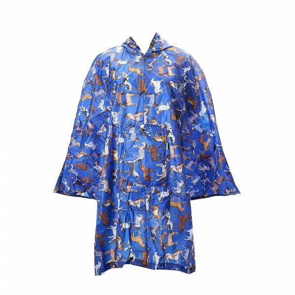 46915 Country Horses Foldable Poncho