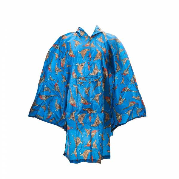 46917 Pheasant And Grouses Foldable Poncho