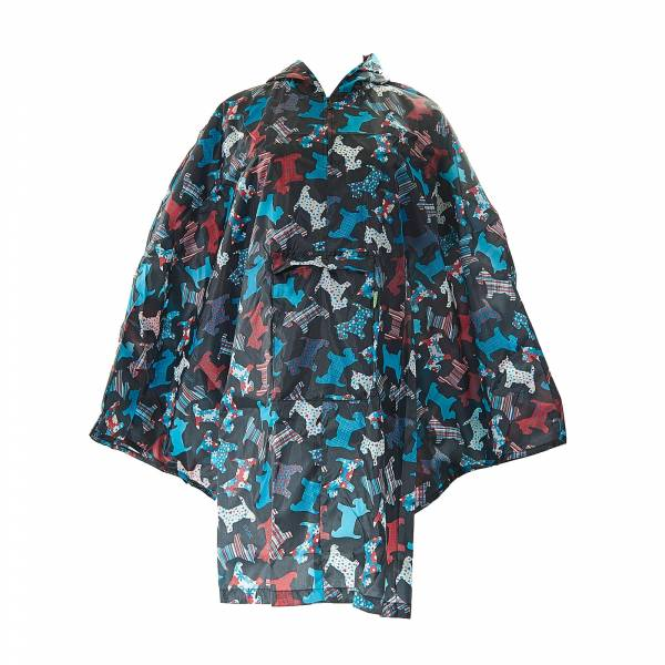 46920 New Scotty Dog Foldable Poncho
