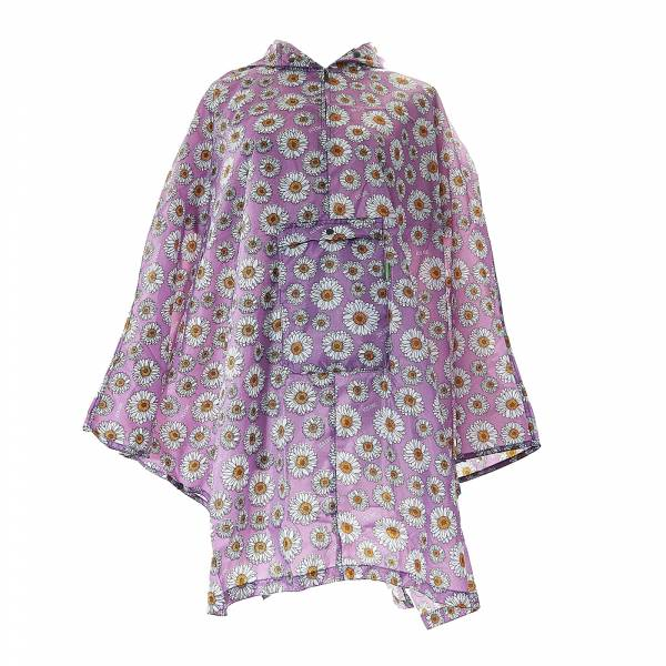46922 Gerbera Daisies Foldable Poncho