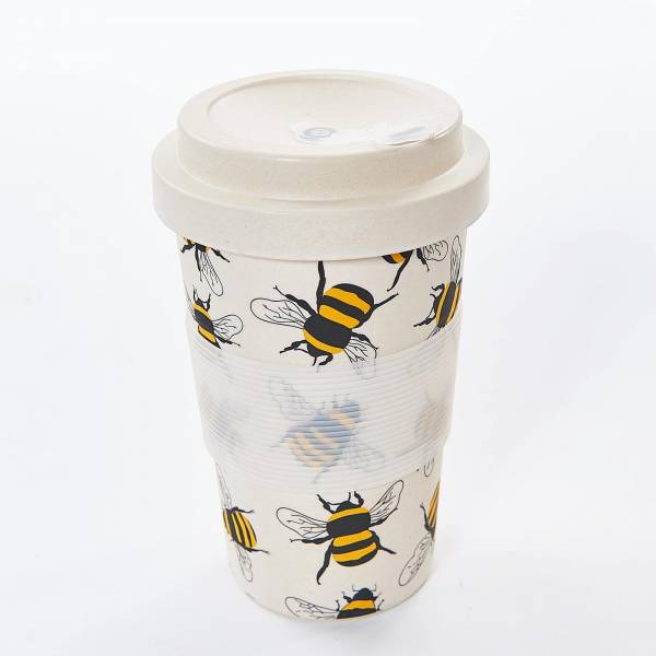 81010 Neutral Bees Bamboo Cup Pack of 3