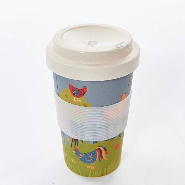 81011 Chicken Bamboo Cup Pack of 3