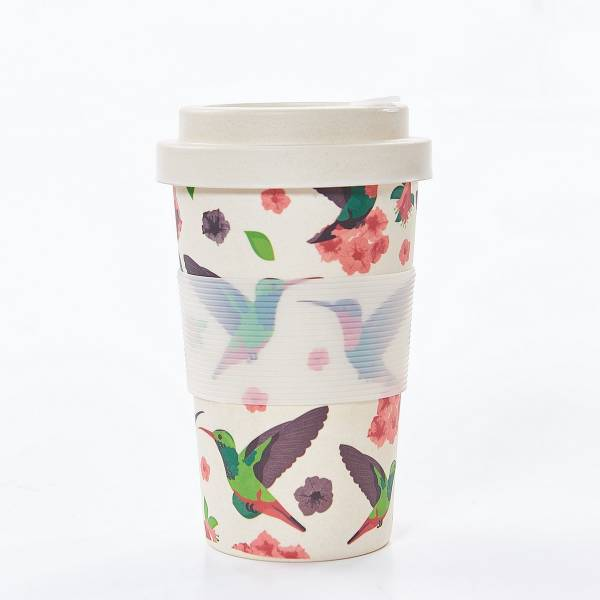 81013 Hummingbirds Bamboo Cup Pack of 3