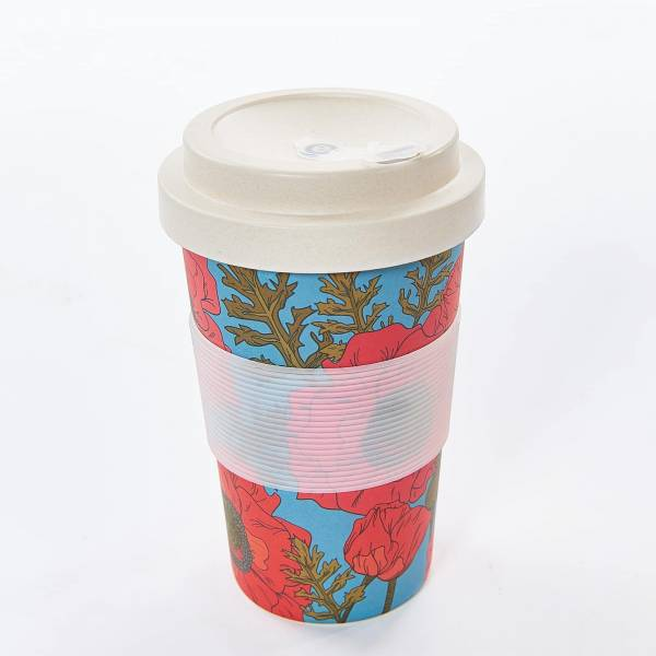81015 Poppies Bamboo Cup Pack of 3