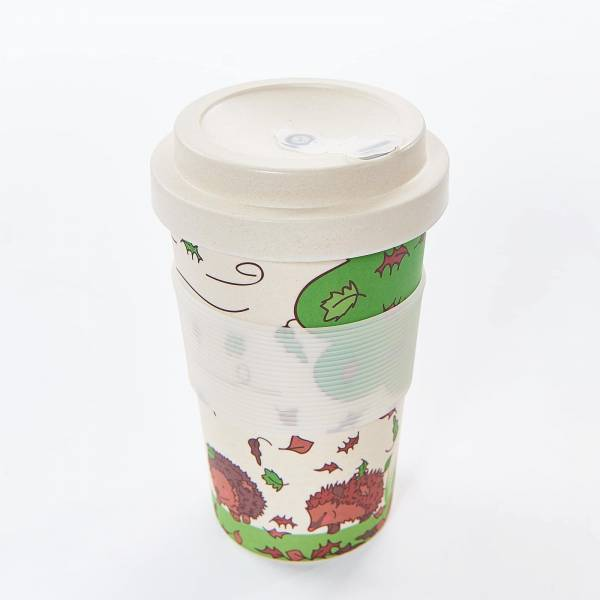 81019 Hedghogs Bamboo Cup Pack of 3