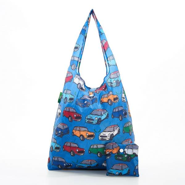 A01 Blue Mini Car Shopper x2