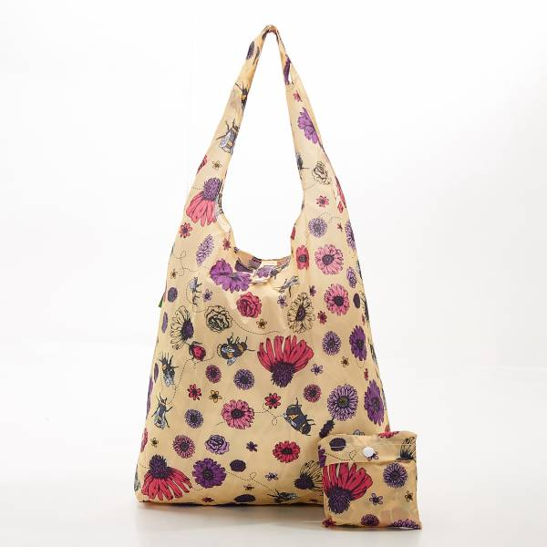 A02 Beige Bee2 Shopper x2