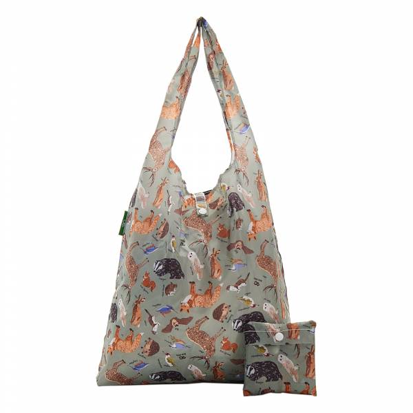 A06 Olive Woodland Shopper x2