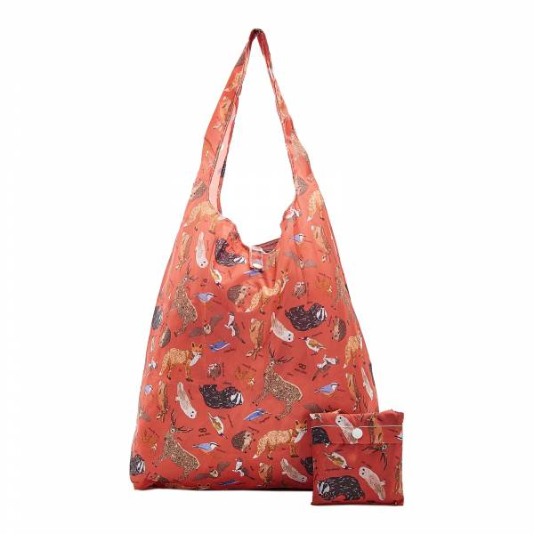 A06 Red Woodland Shopper x2