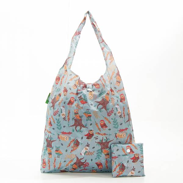 A07 Blue Owl Shopper x2