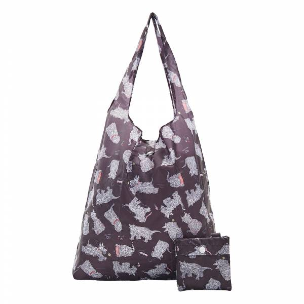 A08 Black Scatty Scotty Shopper x2