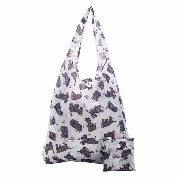A08 White Scatty Scotty Shopper x2