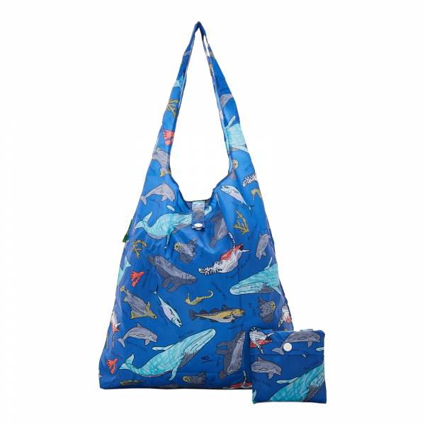 A12 Blue Sea Creatures Shopper x2