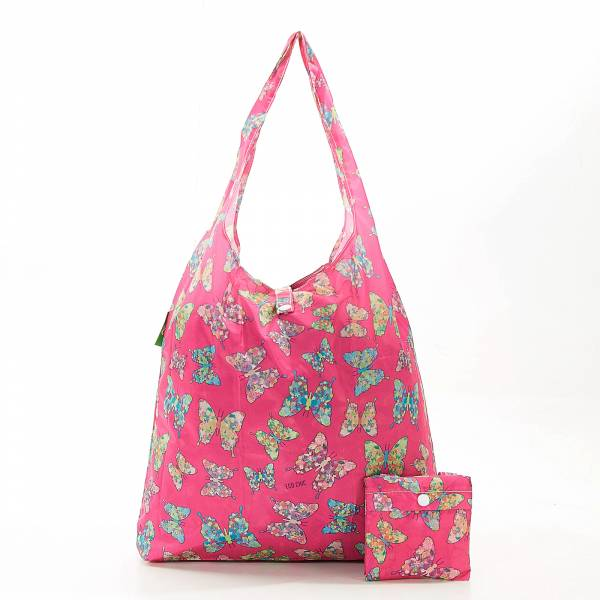 A15 Fuchsia Butterfly Shopper X2