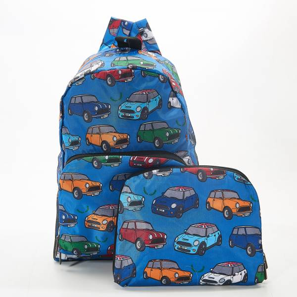 B01 Blue Mini Car Backpack x2