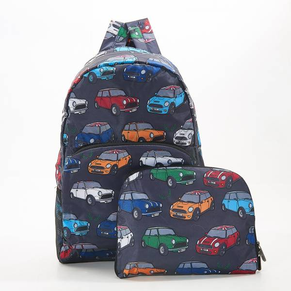 B01 Grey Mini Car  Backpack x2