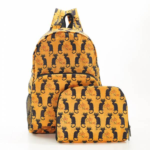 B03 Mustard Le Chat Noir Backpack x2