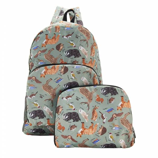 B06 Olive Woodland Backpack x2
