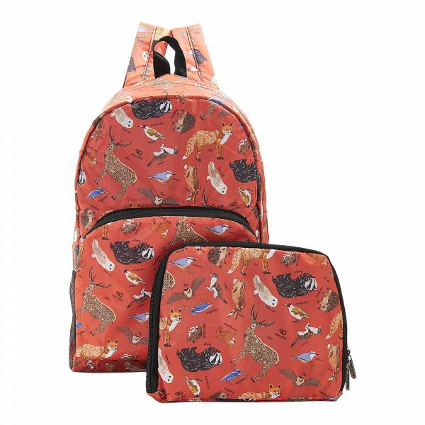 B06 Red Woodland Backpack x2