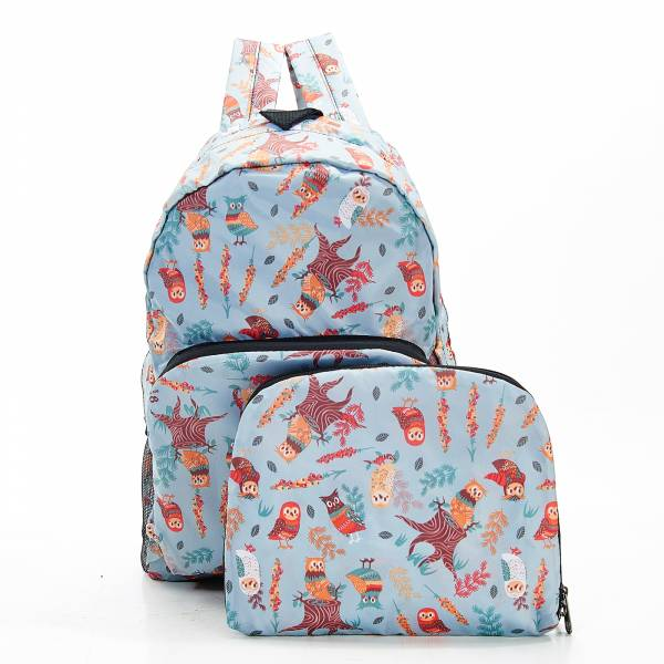 B07 Blue Owl Backpack x2