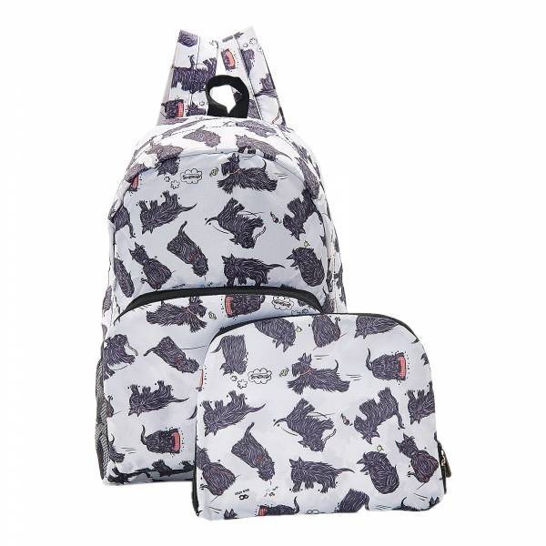 B08 White Scatty Scotty Backpack x2