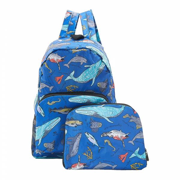 B12 Blue Sea Creatures Backpack x2