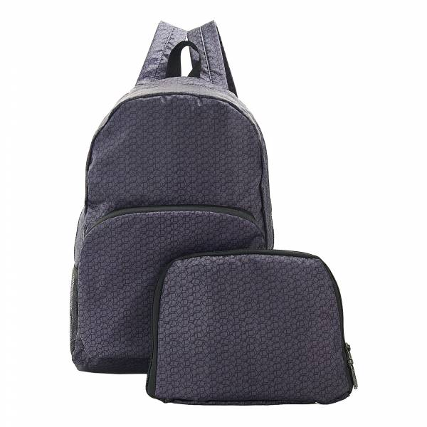 B13 Black Disrupted Cubes Backpack x2