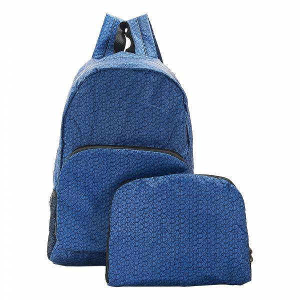 B13 Navy Disrupted Cubes Backpack x2