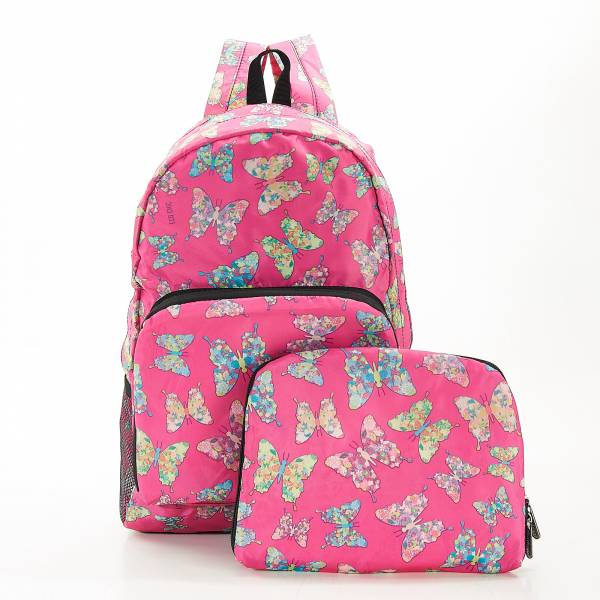 B14 Fuchsia Butterfly Backpack X2