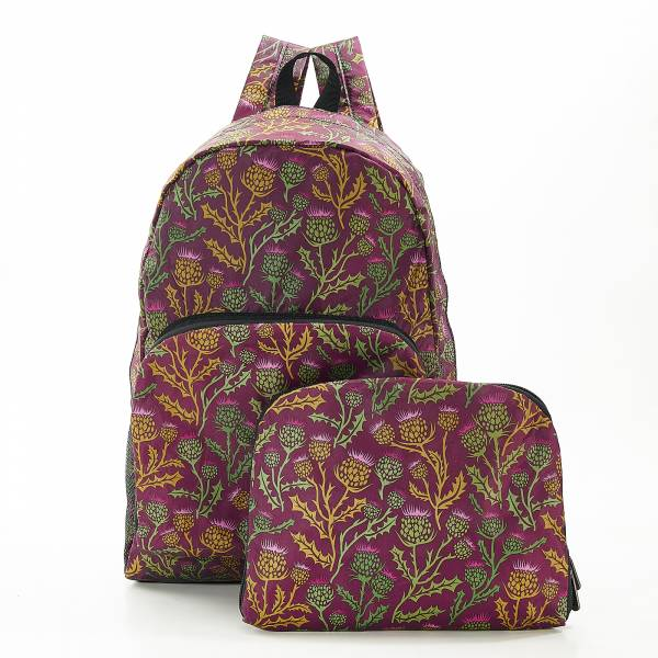 B15 Purple Thistle Backpack x2
