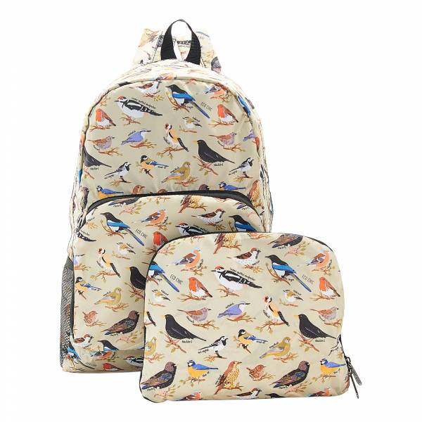 B16 Green Wild Birds Backpack x2