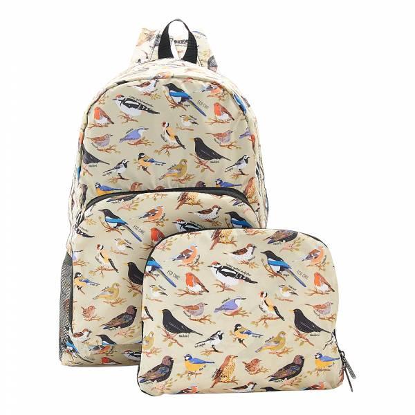 B16 Green Wild Birds Backpack x2