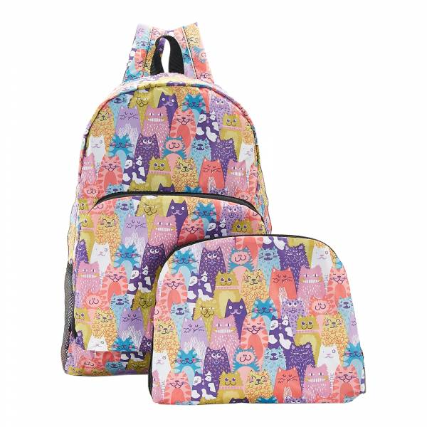 B18 Multiple Stacking Cats Backpack x2