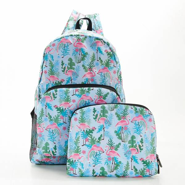 B19 Blue Flamingo Backpack x2