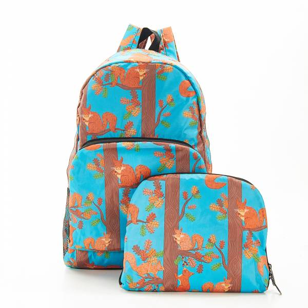 B20 Blue Squirrel Backpack x2