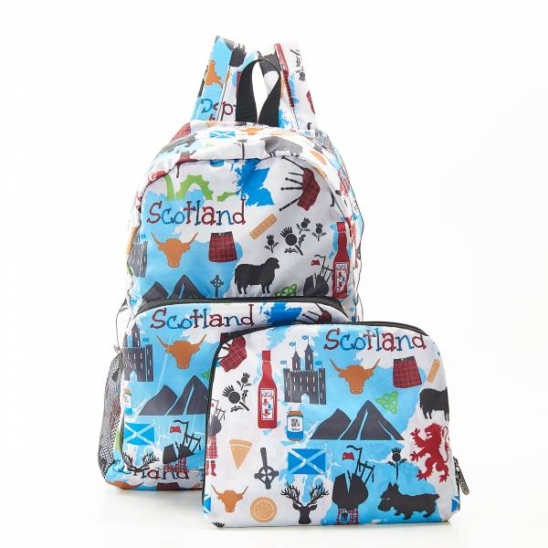 B22 White Scottish Montage Backpack x2