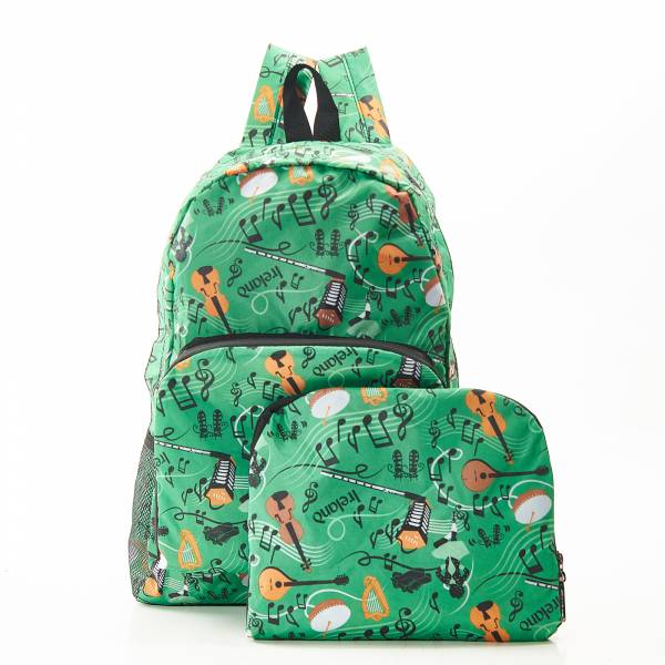 B23 Green Irish Music Backpack x2