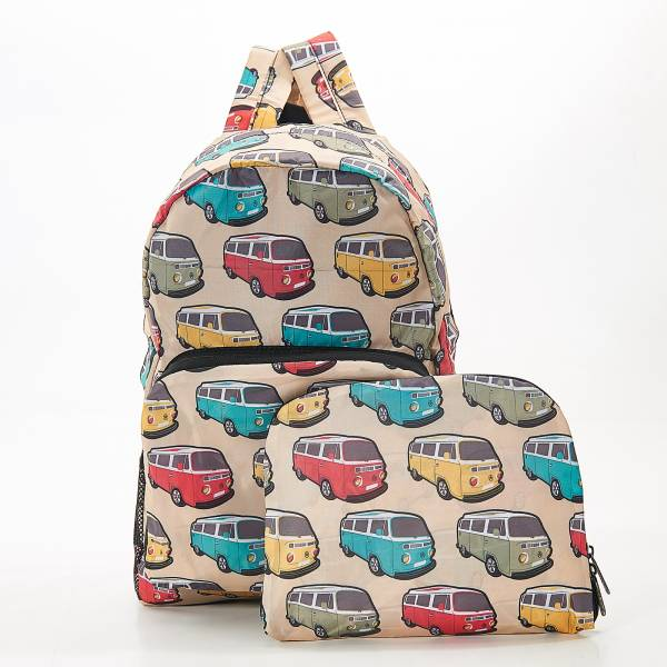 B25 Beige Camper Vans Backpack x2