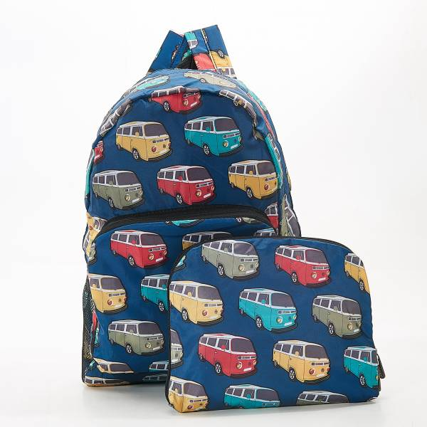 B25 Teal Camper Vans Backpack x2