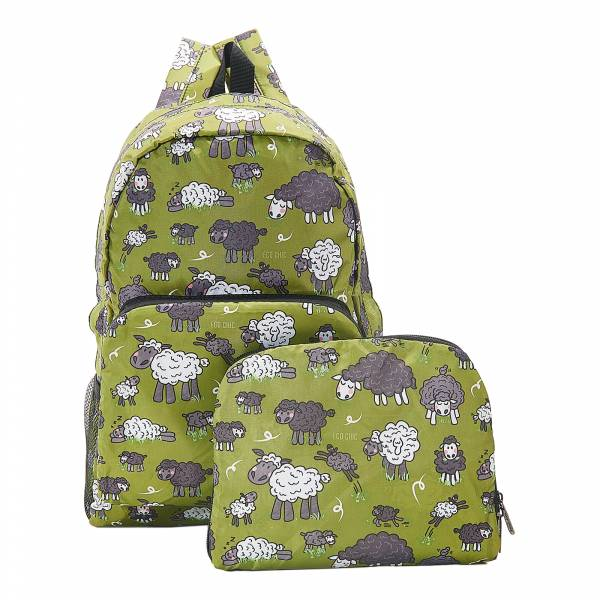B26 Green Sheep Backpack x2
