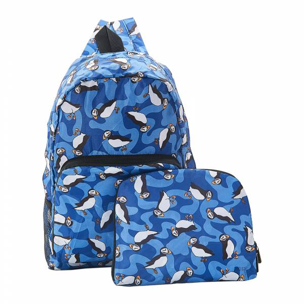 B27 Blue Puffin Backpack x2