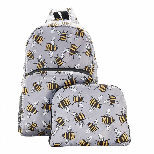 B28 Grey Bees Backpack x2