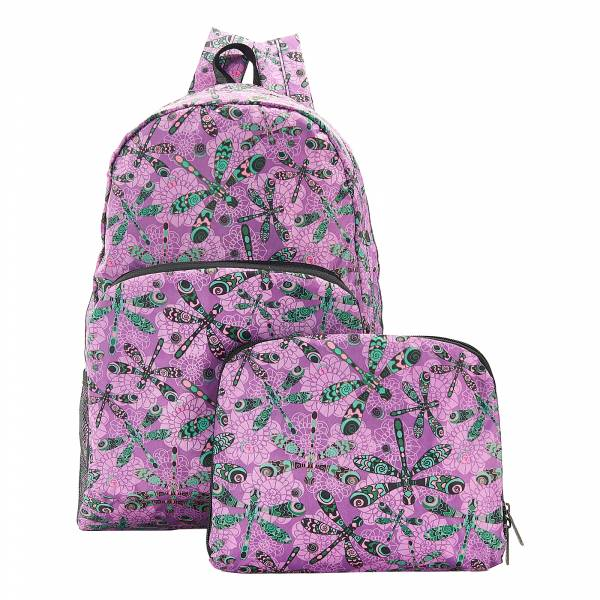 B29 Purple Dragonfly Backpack x2