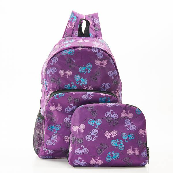 B30 Purple Bike Backpack x2