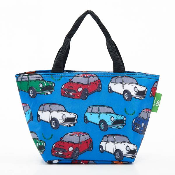 C01 Blue Mini Car  Lunch Bag x2