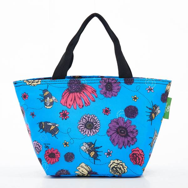 C02 Blue Bee2 Lunch Bag x2