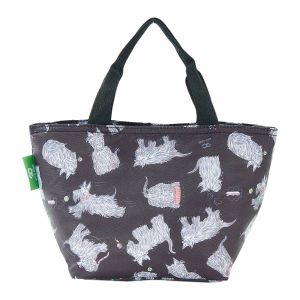 C08 Black Scatty Scotty Lunch Bag x2