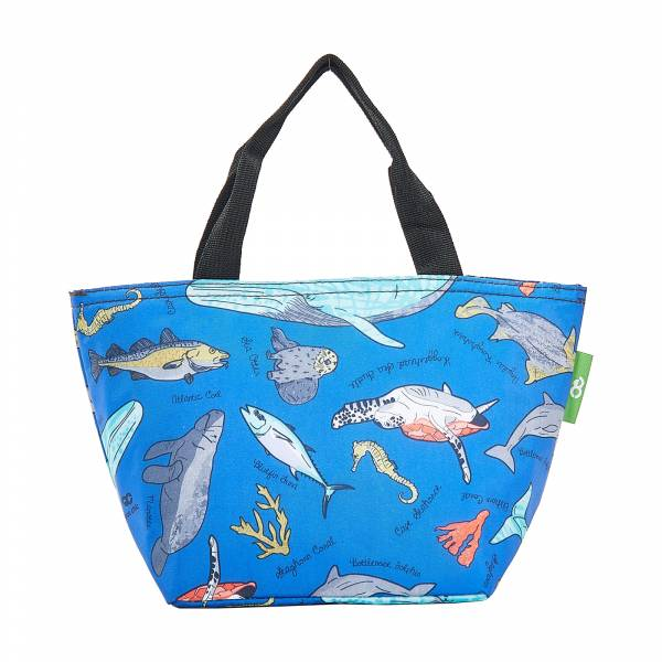 C12 Blue Sea Creatures Lunch Bag x2