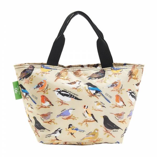 C17 Green Wild Birds Lunch Bag x2