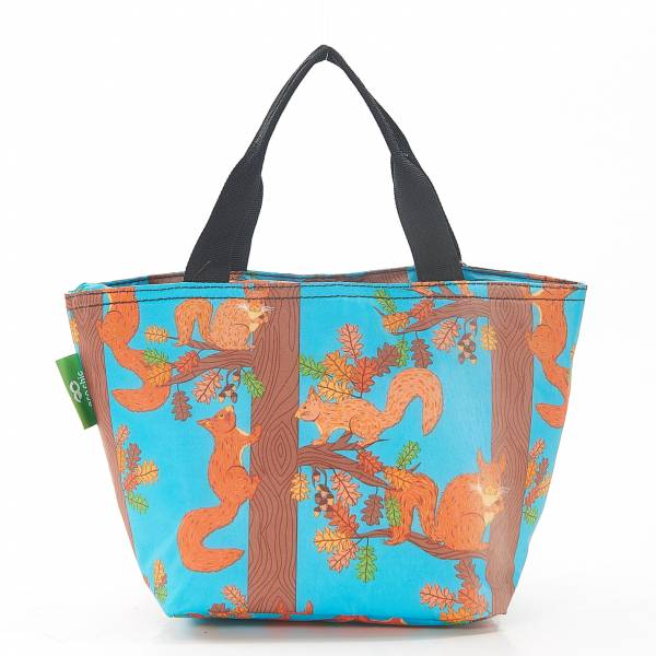 C20 Blue Squirrel Lunch Bag x2